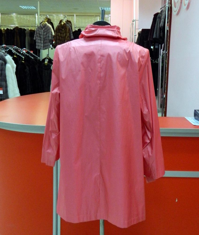 Женский плащ Розовый Пион