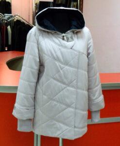 Пальто белое