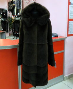 Шуба из нутрии Вологда