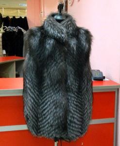 жилетка из чернобурки вологда